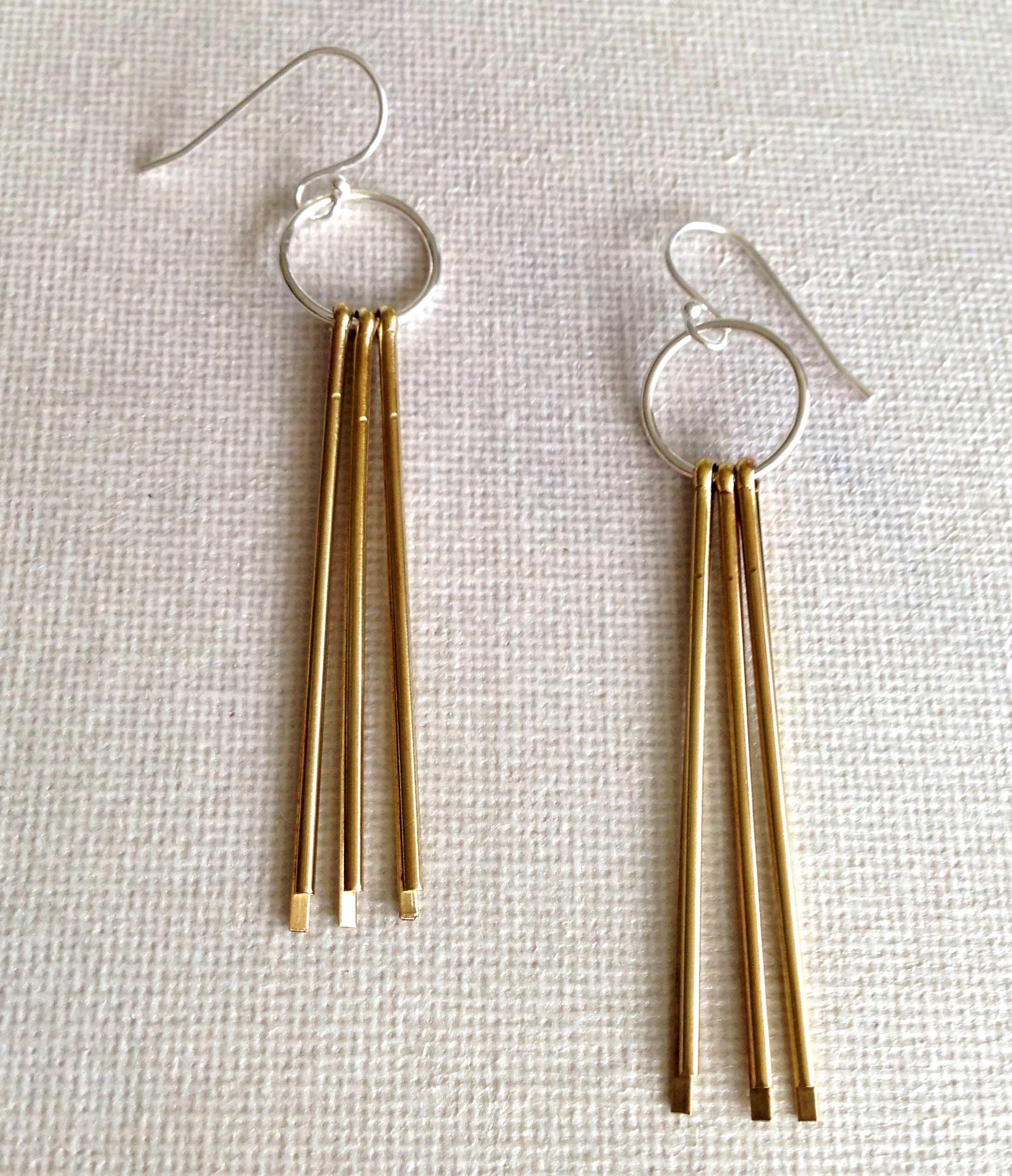 triple-brass-pin-earrings