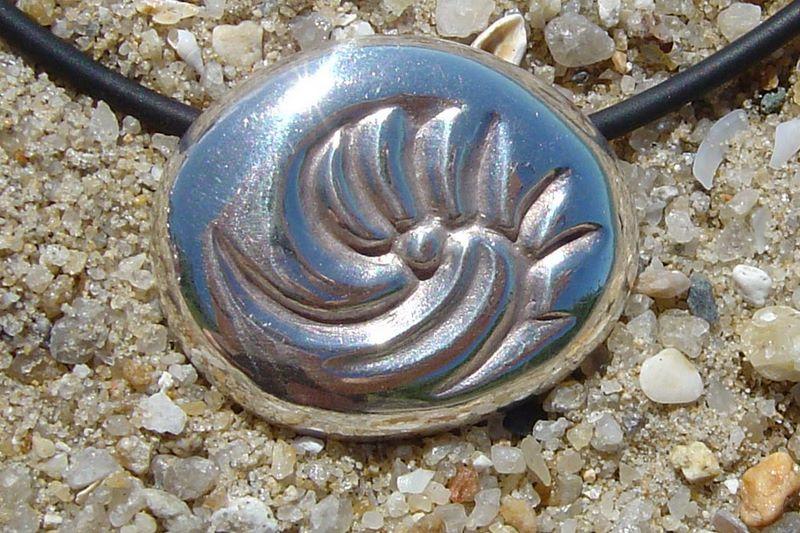 Silver Emerging Pendant