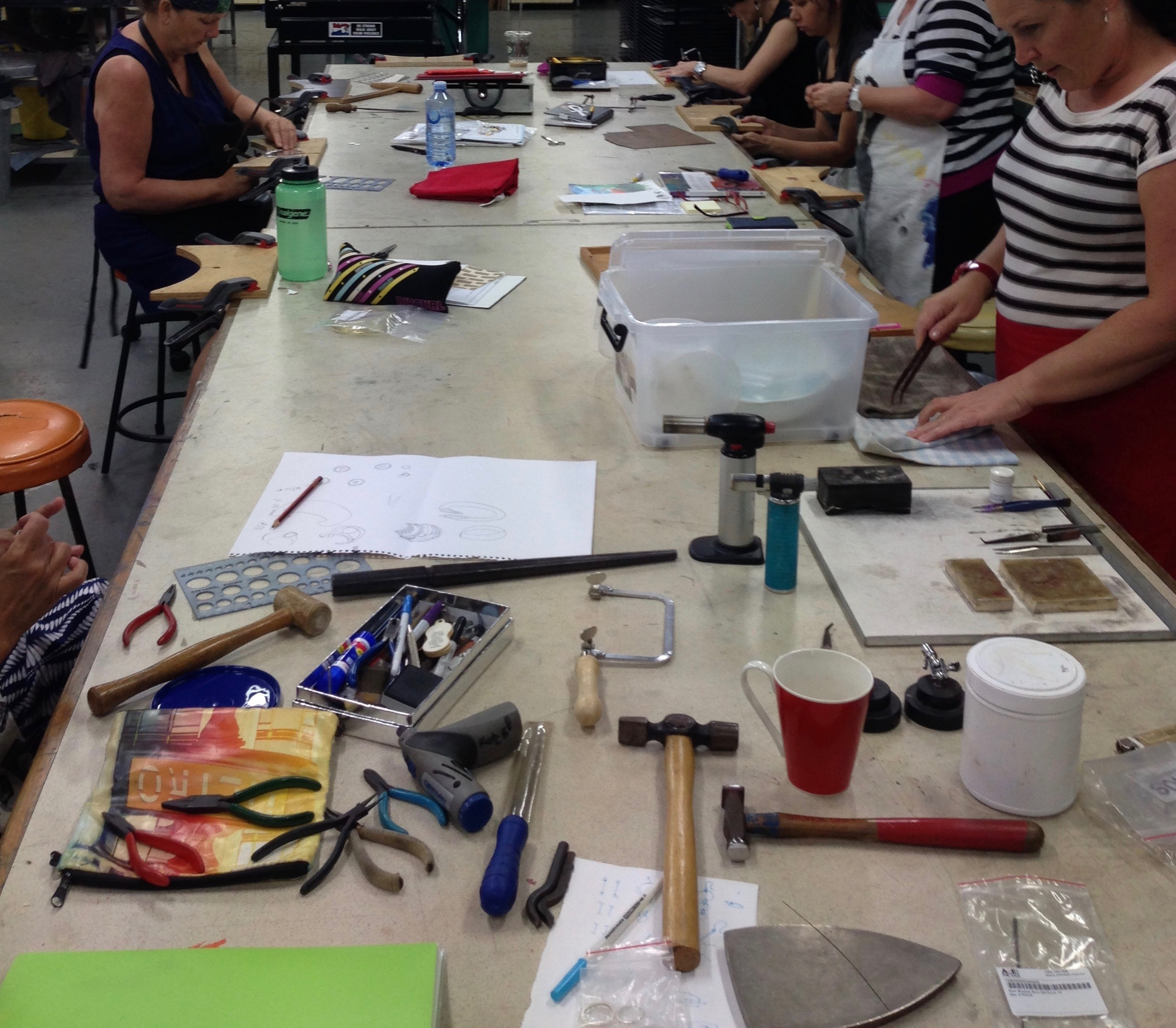 2019 Jewellery and Silversmithing Introduction Short Course Program