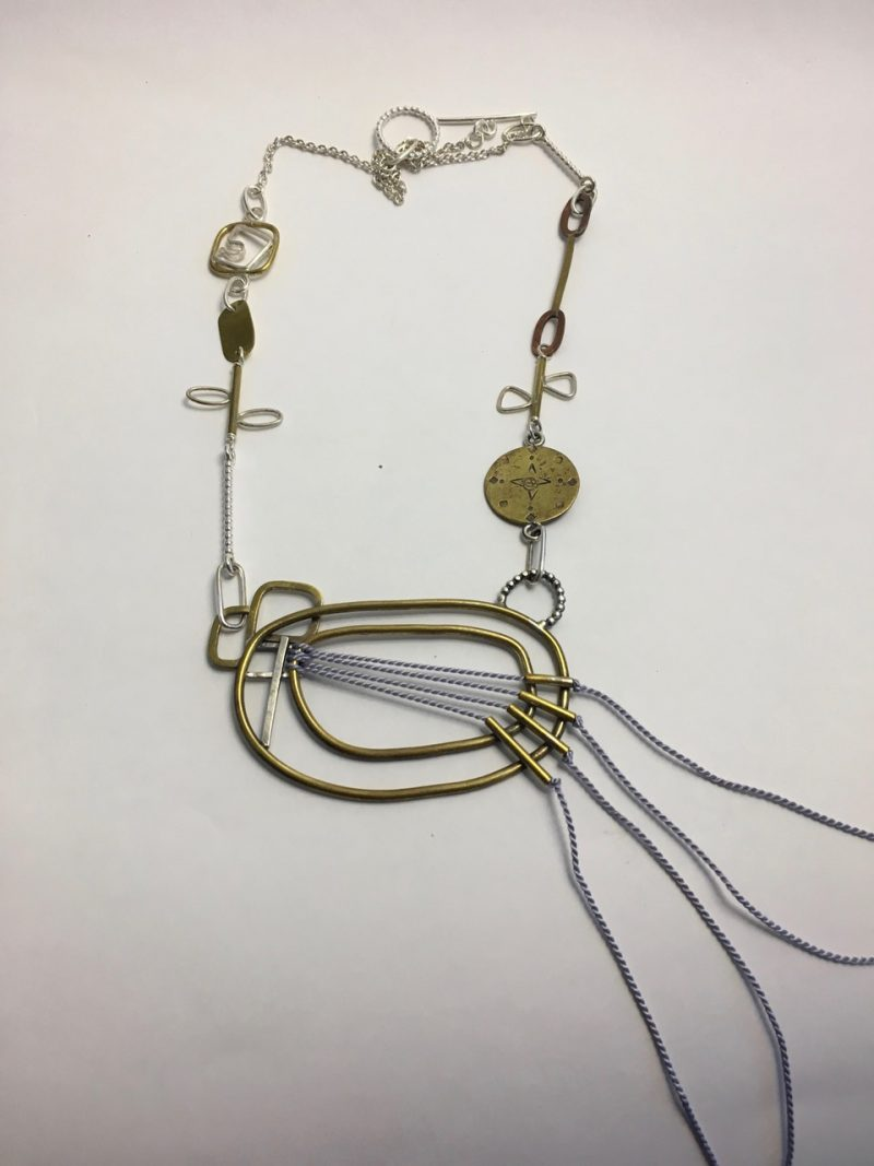 silver necklace designers australia